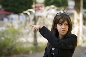 Lina Ben Mhenni (Afp)