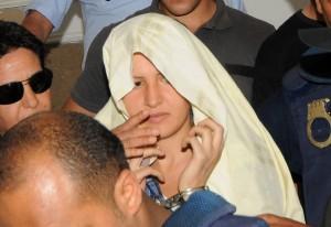 Amina Sboui, la Femen tunisina (Afp)