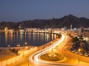Il porto di fronte alla città vecchia nel distretto di Mutrah a Muscat, Oman (Afp)