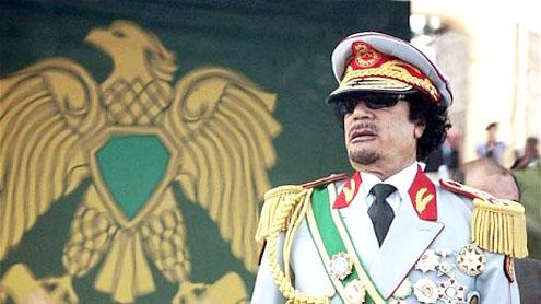 Il leader della Jamahiriyya Muammar Gheddafi (1942 - 2011)