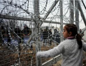 Il confine tra Macedonia e Grecia