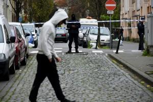 Operazione di polizia a Molenbeek il 16 novembre 2015 (Getty Images)