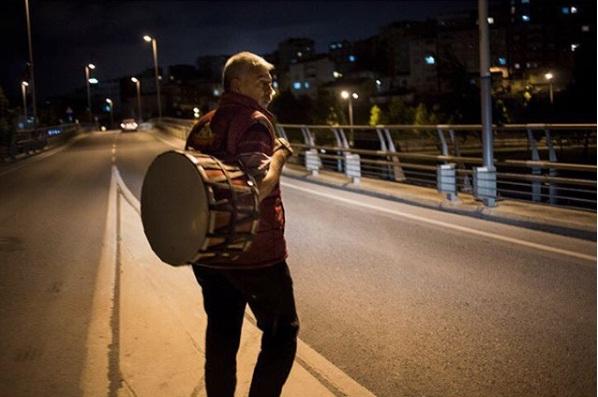 Yağup Kapcak, musaharati turco (Oscar Durand, Instagram)